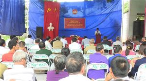 Khu 7, xã Đồng Luận tổ chức Ngày hội Đại đoàn kết toàn dân tộc