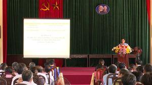 Ủy ban MTTQ Việt Nam huyện tổ chức hội nghị lấy ý kiến sự hài lòng của người dân đối với kết quả xây dựng nông thôn mới