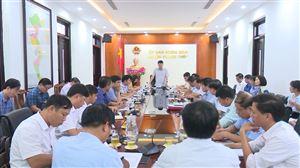 UBND huyện Thanh Thủy tổ chức hội nghị về tiến độ thực hiện các nhiệm vụ Chương trình MTQG xây dựng NTM