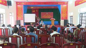 Hội Nông dân tập huấn công tác bảo vệ môi trường tại xã Tu Vũ