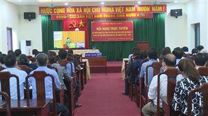 Thanh Thủy tham gia Hội nghị trực tuyến Tập huấn công tác bầu cử đại biểu Quốc hội và đại biểu HĐND các cấp