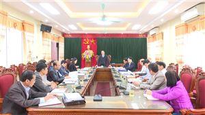 Kiểm tra, giám sát công tác bầu cử tại huyện ThanhThủy