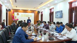 HU, UBND huyện tổ chức hội nghị giao ban trực tuyến tháng 4 năm 2021
