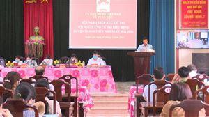 Hội nghị tiếp xúc cử tri tại Xuân Lộc và Bảo Yên
