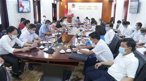 Hội nghị trực tuyến về tăng cường phòng, chống dịch Covid-19