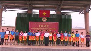 Liên đoàn Lao động huyện Thanh Thủy tổ chức Giải bóng chuyền hơi công  nhân viên chức lao động năm 2019