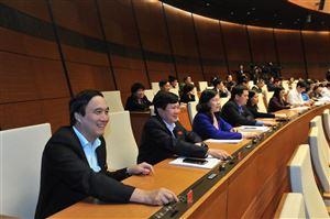 Hoạt động của Đoàn ĐBHQ tỉnh tại Kỳ họp thứ 4 - Quốc hội khóa XIV