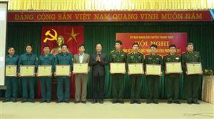 UBND huyện Thanh Thủy tổng kết công tác Quốc phòng - Quân sự năm 2017