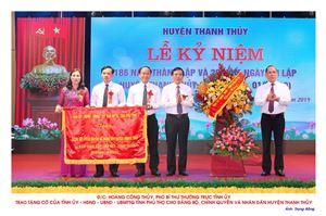 Hình ảnh Lễ kỷ niệm 186 năm thành lập và 20 năm Ngày tái lập huyện Thanh Thủy (01/9/1999 - 01/9/2019)