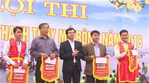 dc Nguyen Van Cuong trao giai  cho cac doi thi