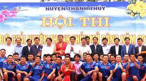 Hội thi bơi Chải mở rộng huyện Thanh Thủy 2018