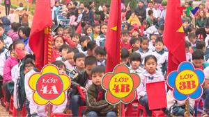 Trườg tiểu học Sơn Thủy 2 tổ chức ngày hội tuổi thơ năm 2018