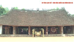 Đình Đào Xá - Di tích lịch sử văn hóa cấp Quốc gia